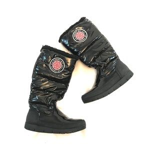 Madden Girl Snow Boots Iggloo Boots Patent Leather
